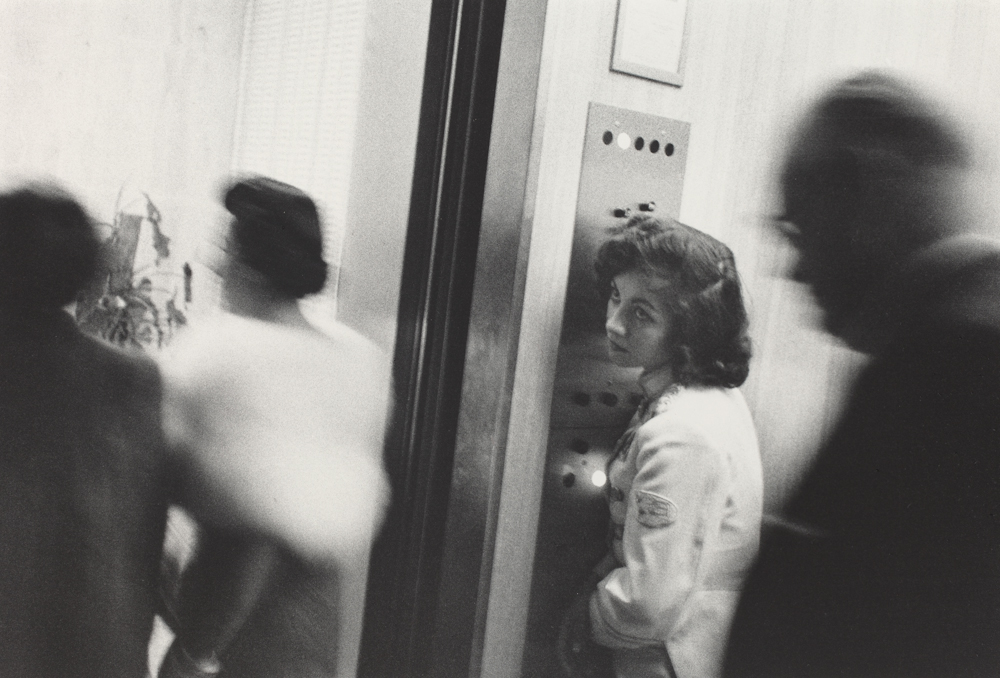 Robert Frank's Photo of the Lonely-Looking Elevator Operator.